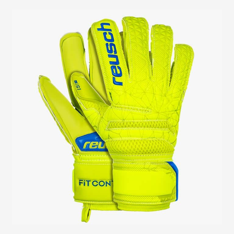 reuch.sg.finger.support.fit.control.keepershandschoenen.geel.