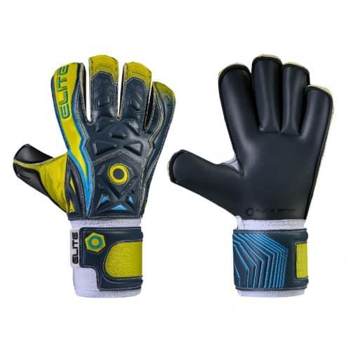 elite.coraza.keepershandschoenen.geel.blauw.