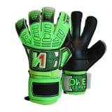 onekeeper.fusion.pupil.robusto.supreme.groen.zwart.keepershandschoenen.