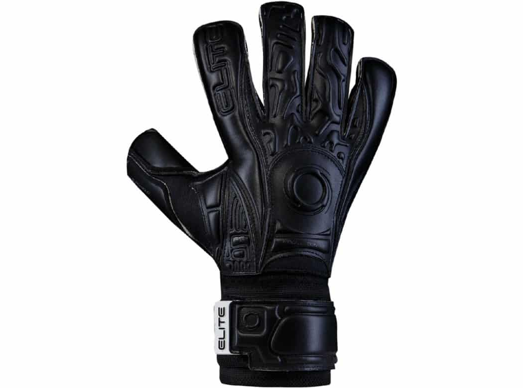 Elite.Black.Solo. voetbal handschoen