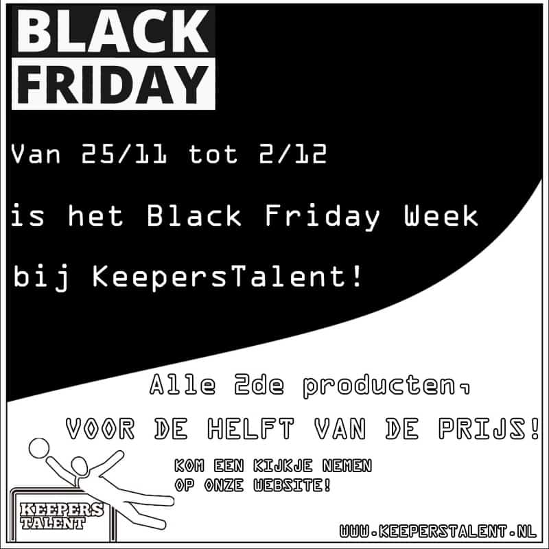 keepershandschoenen Black Friday